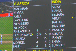 Official Proteas Supporters' Club Proteas fan scoreboard